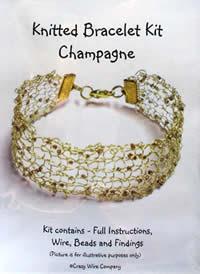 Kniited bracelet kit
