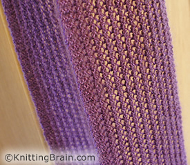 Turkish Stitch - Making Turkish Stitch - Lace Knitting